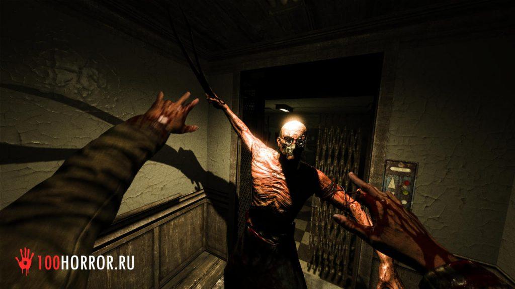 Хоррор - игра Outlast